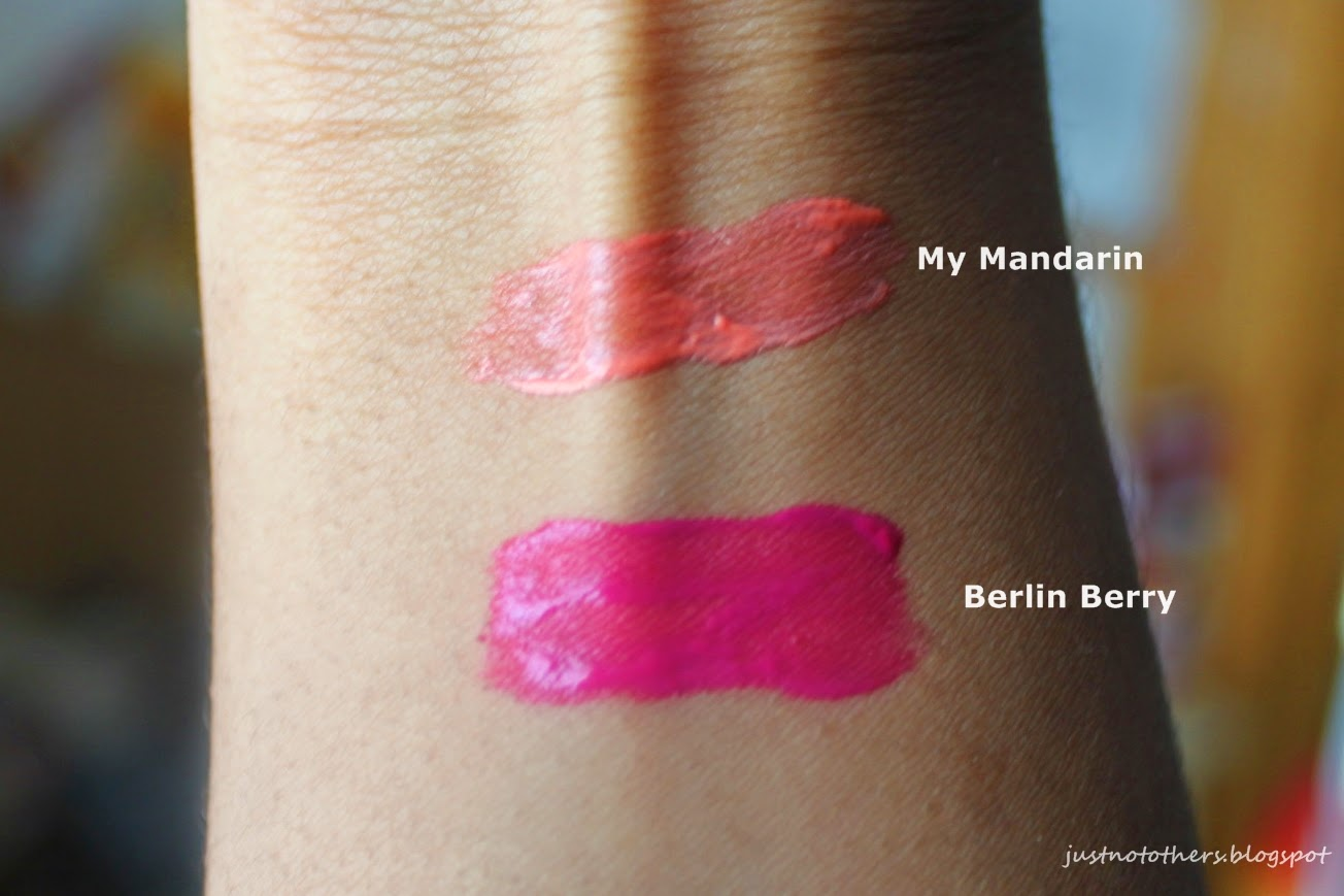 Manhatten Colour Splash Liquid Lip Tint