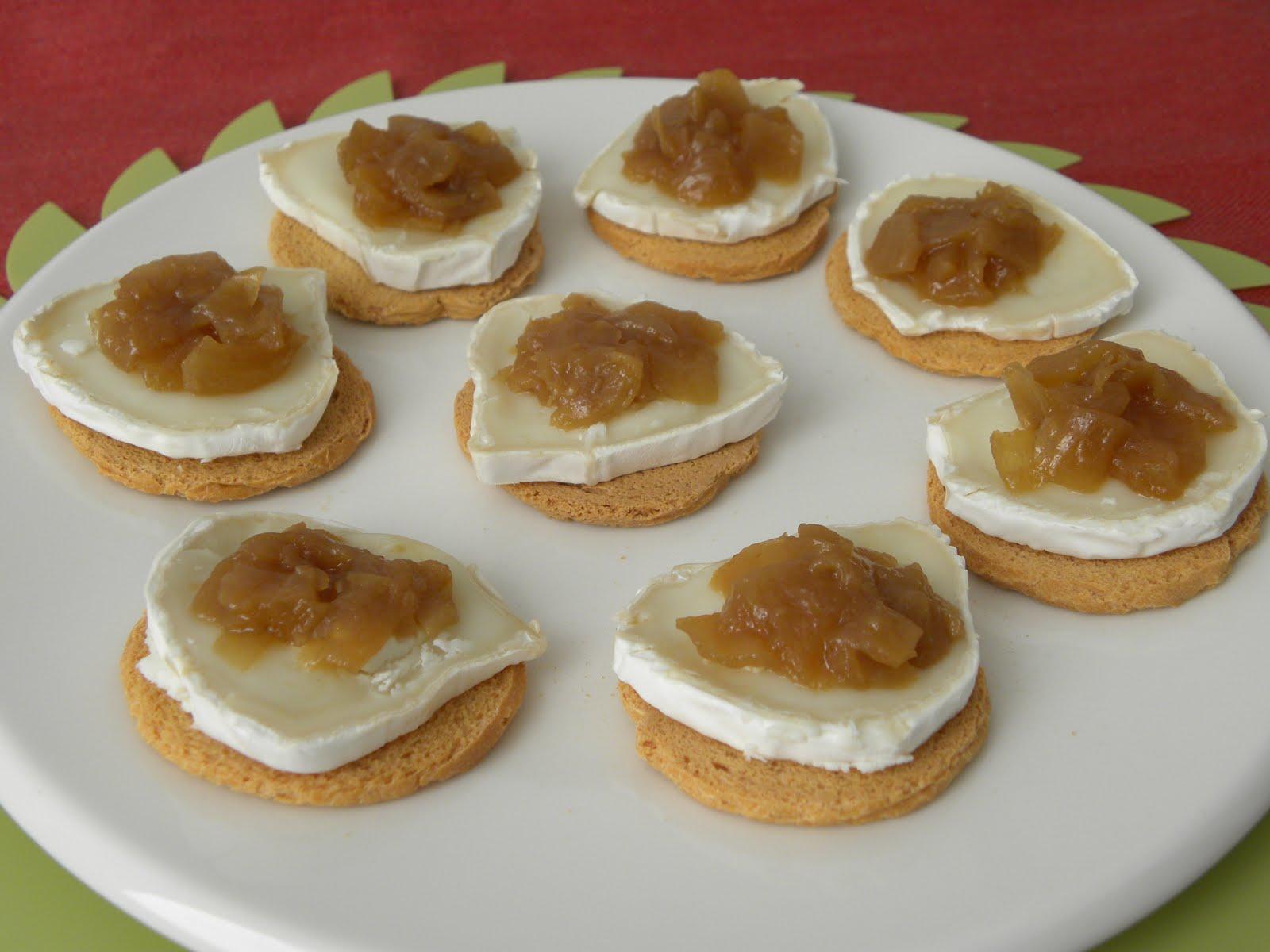 Trasteando en mi cocina tartaletas o canap s variados for Canape de pate con cebolla caramelizada