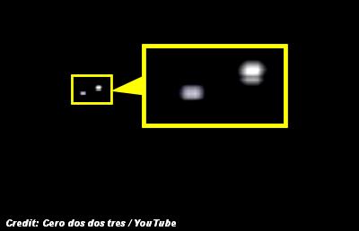 UFO Caught on Video Over Mar del Plata   ARGENTINA