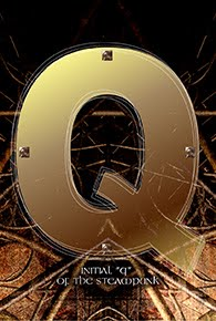 スチームパンクなイニシャル「Q」