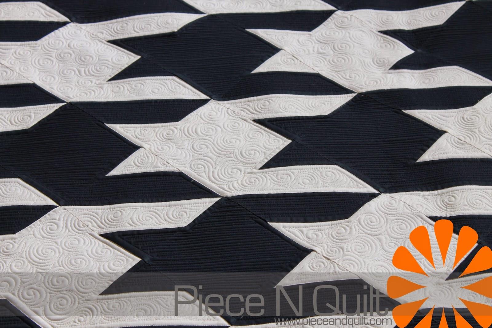 Piece N Quilt: Houndstooth Quilt - Custom Machine Quilting : piece n quilt - Adamdwight.com
