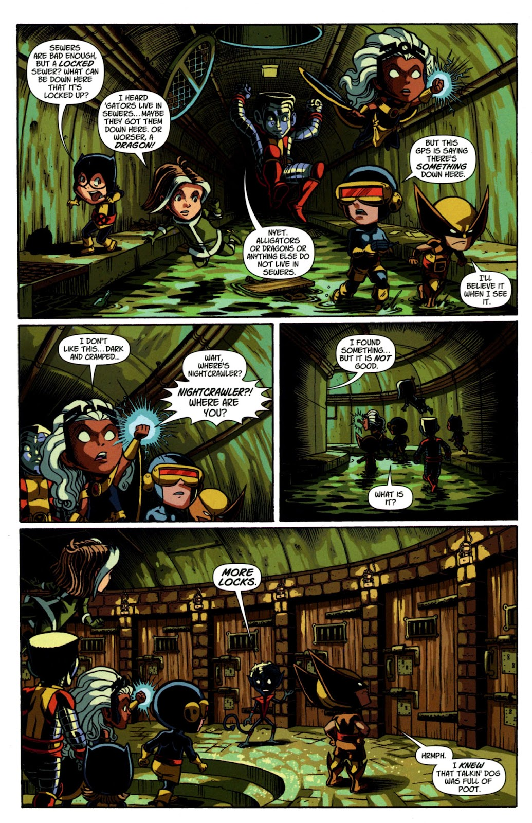Read online X-Babies comic -  Issue #3 - 8
