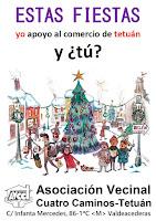 Estas fiestas yo apoyo al comercio de Tetuán, y ¿tú?