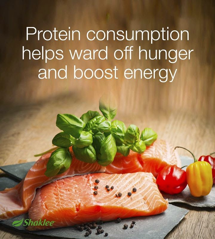helps ward off hunger and boost energy
