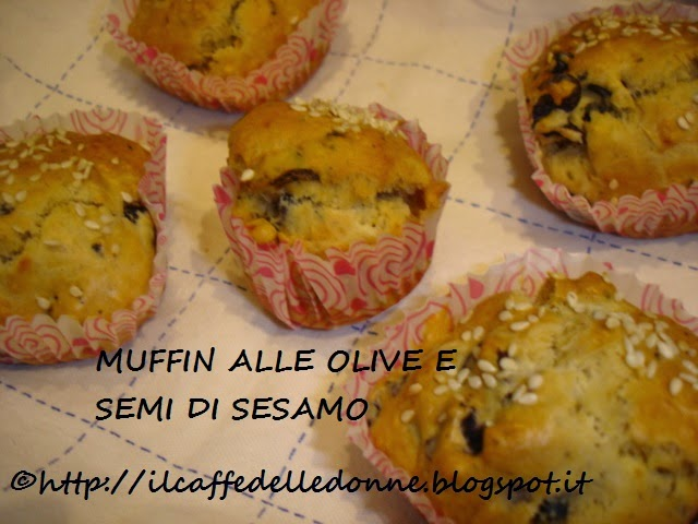 flour's house – the saga – part three - muffin alle olive