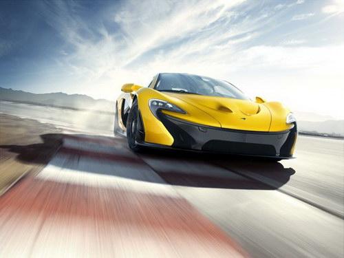Mobil sport McLaren P1