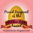 WINNER of the GOLDEN EGG.