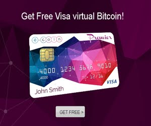 Visa virtual Bitcoin