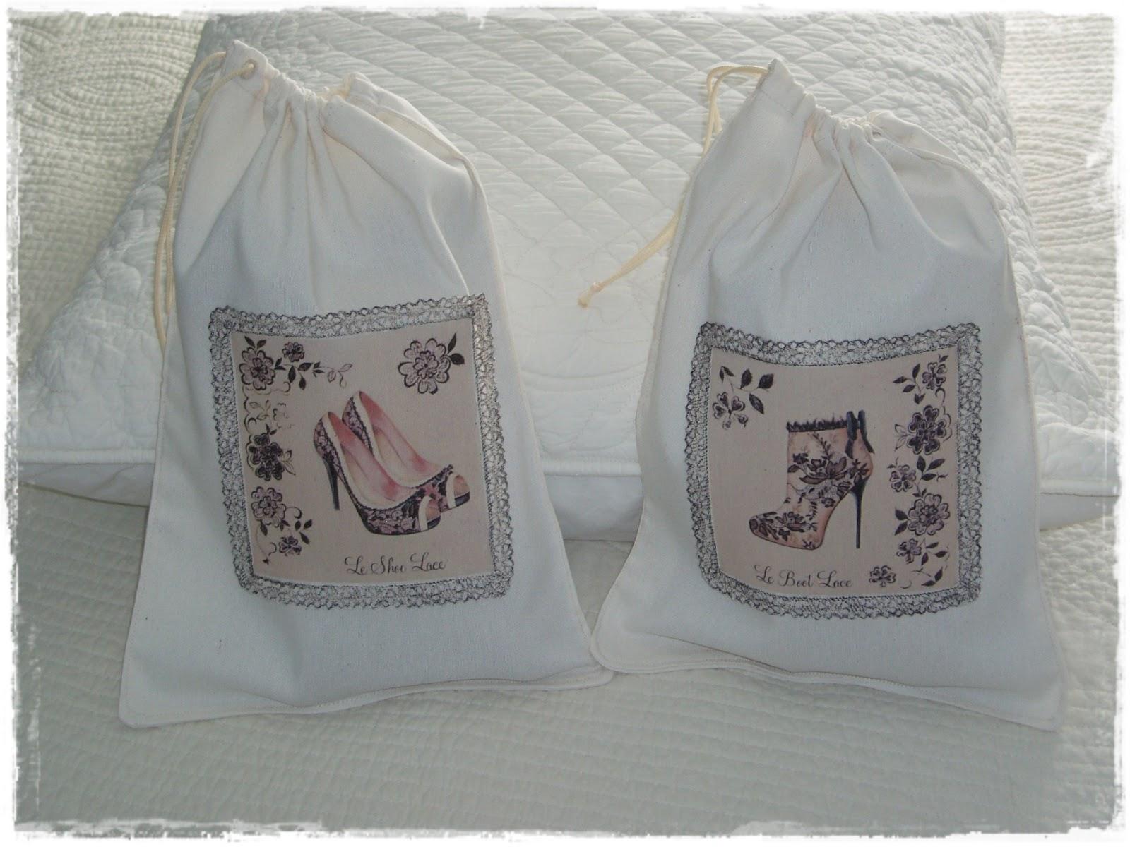 Bobiando un ratito nuevas bolsas para zapatos - Baldas para zapatos ...