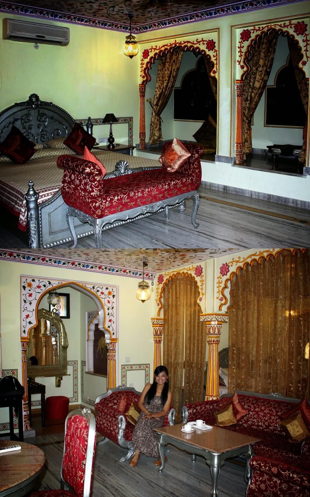 Royal Suite Umaid Bhawan Hotel Jaipur India