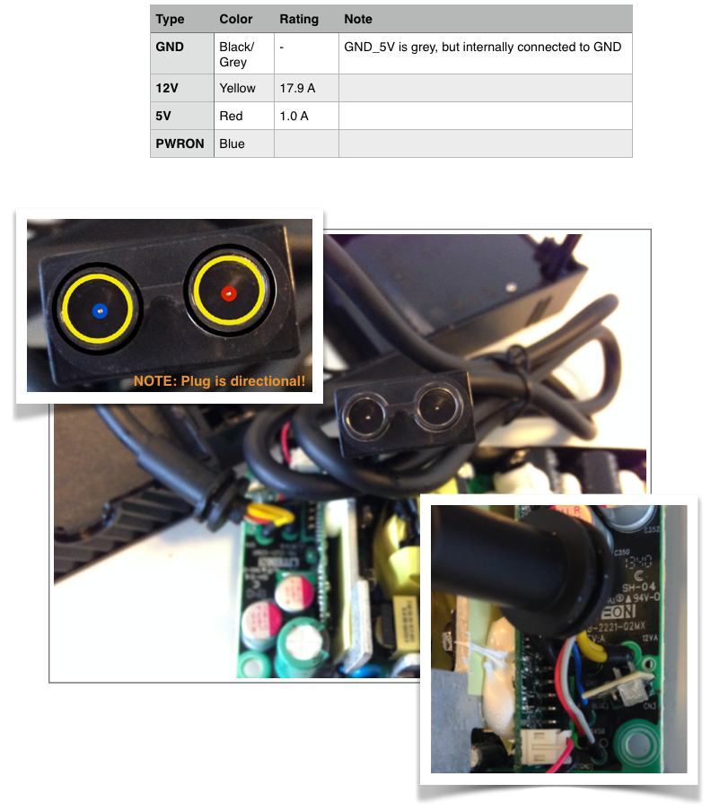 iElk  xbox one    power       supply       pinout