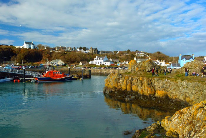Portpatrick, lifeboat, Dumfries and Galloway, harbour