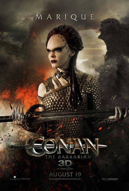 Conan the Barbarian Marique poster