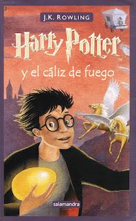 """""""Harry Potter y el caliz de fuego"""""""