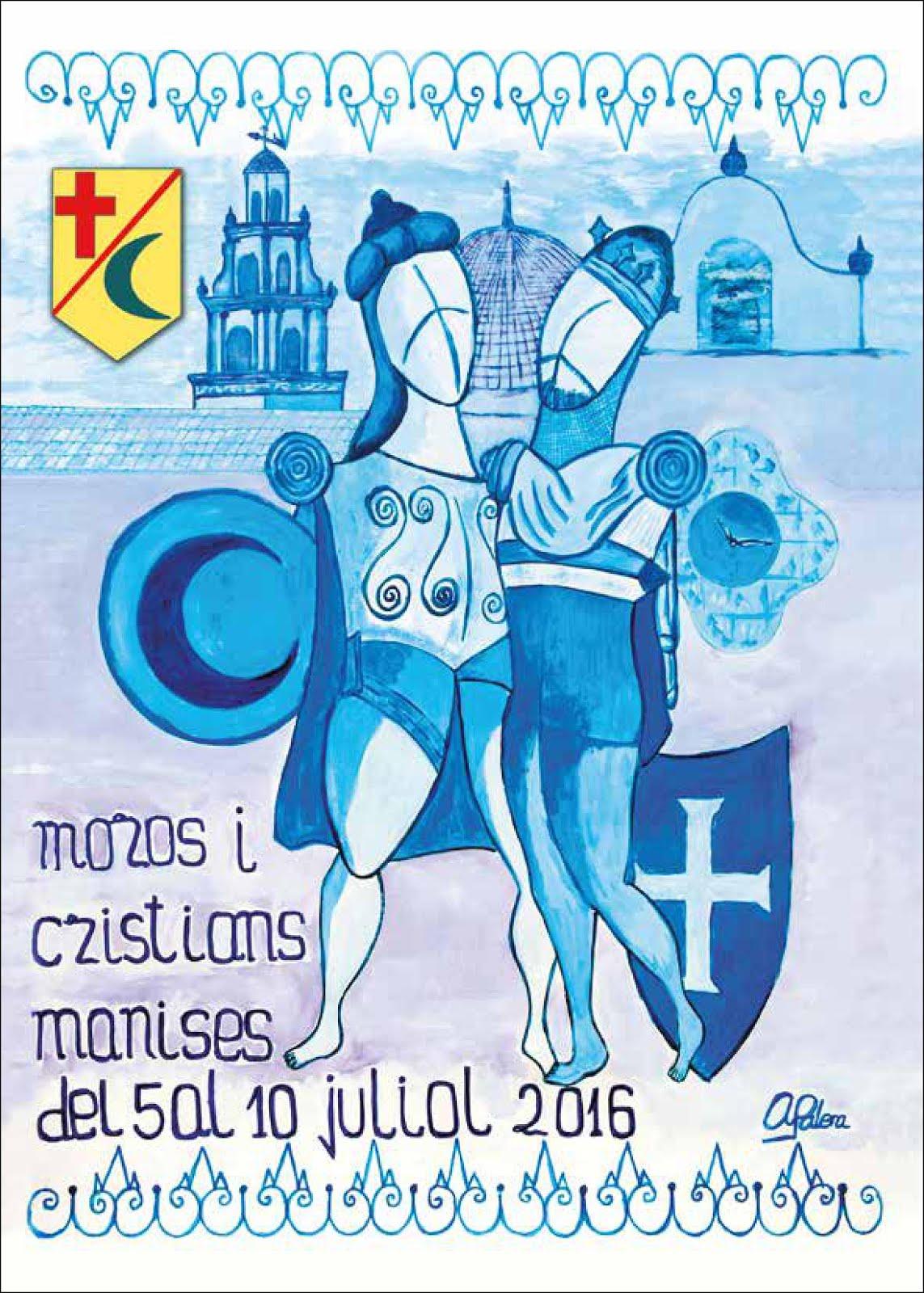 """23.06.16 PROGRAMA DE LOS ACTOS QUE CELEBRAN ELS """"MOROS I CRISTIANS"""" 2016"""