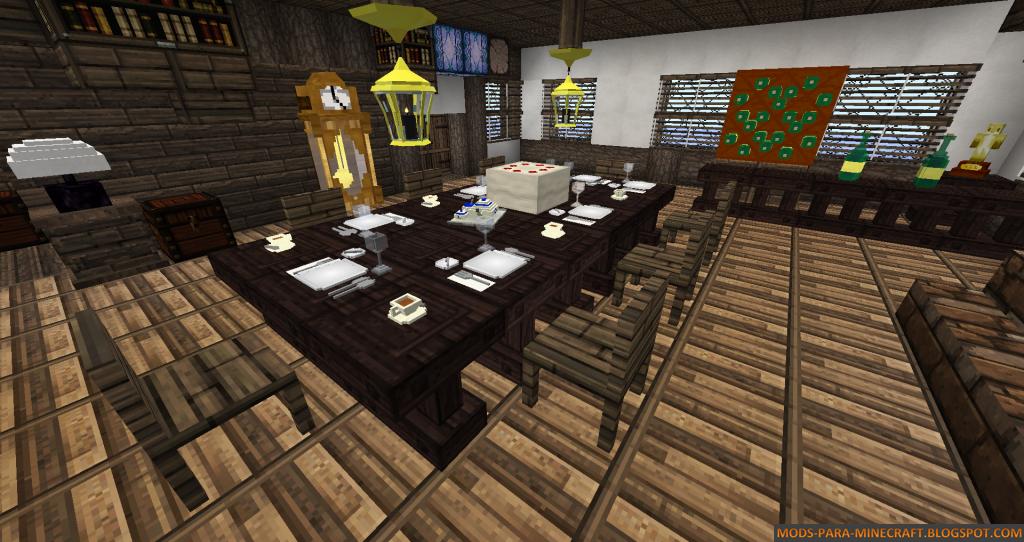 Decocraft Mod Para Minecraft 1 6 4 Actualizaci 243 N Navide 241 A