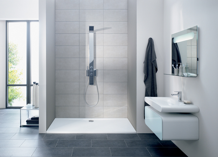 Duchas para baños con la ultima tecnología - Consejos de Decoracion