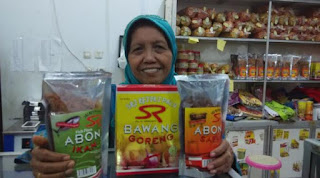 bawang goreng khas Palu