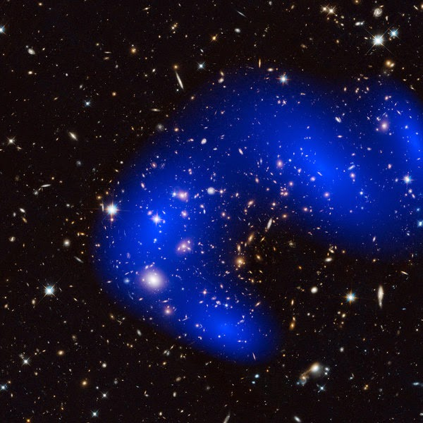 Materi Gelap Cluster Galaksi