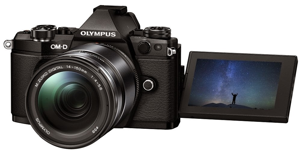 Olympus lancar model terbaru E M5 Mark II