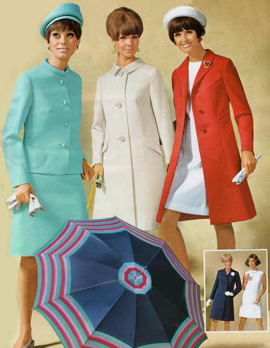 мода 1960-х годов фото