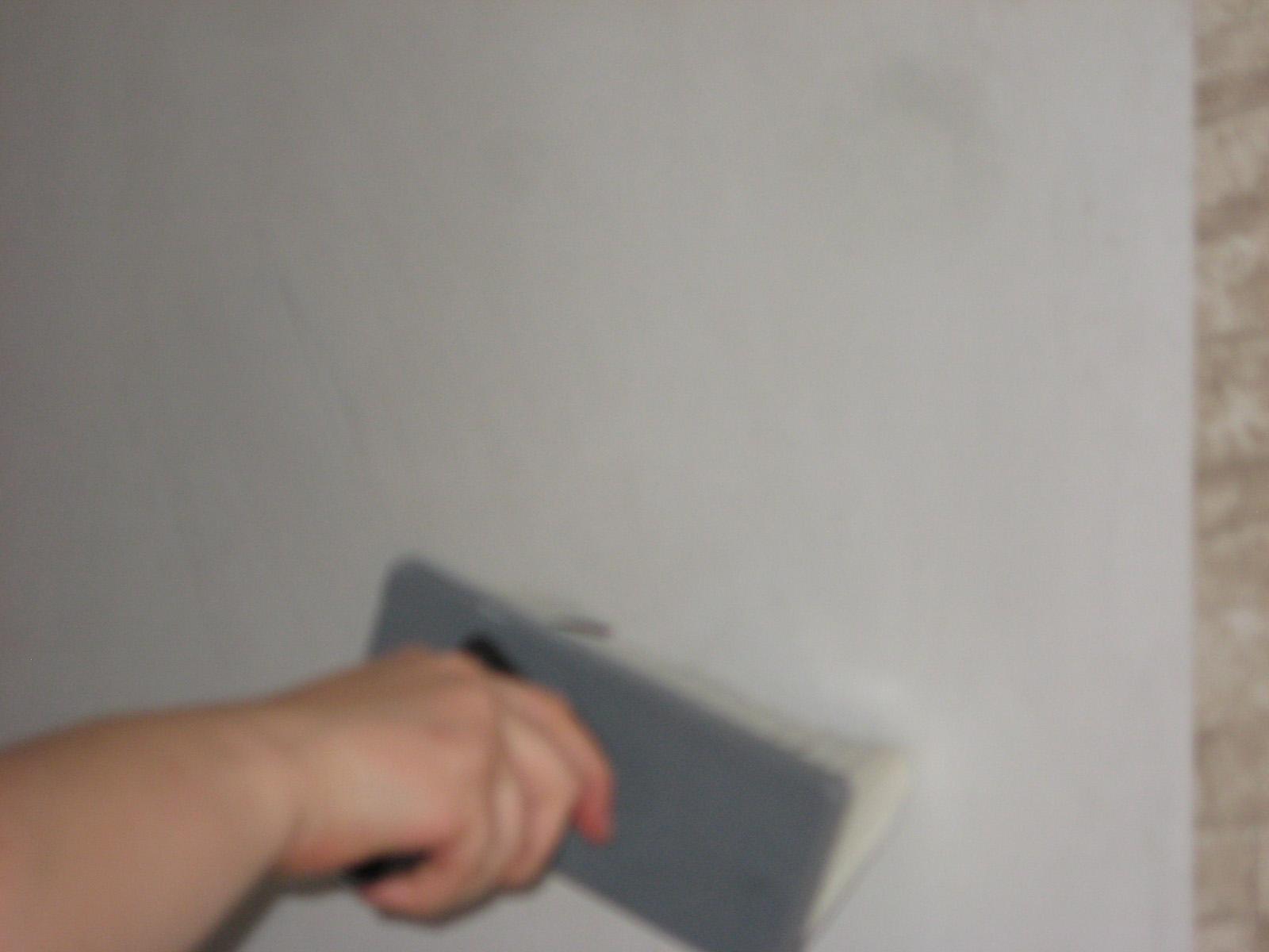 Wand einkleistern Wallpaper