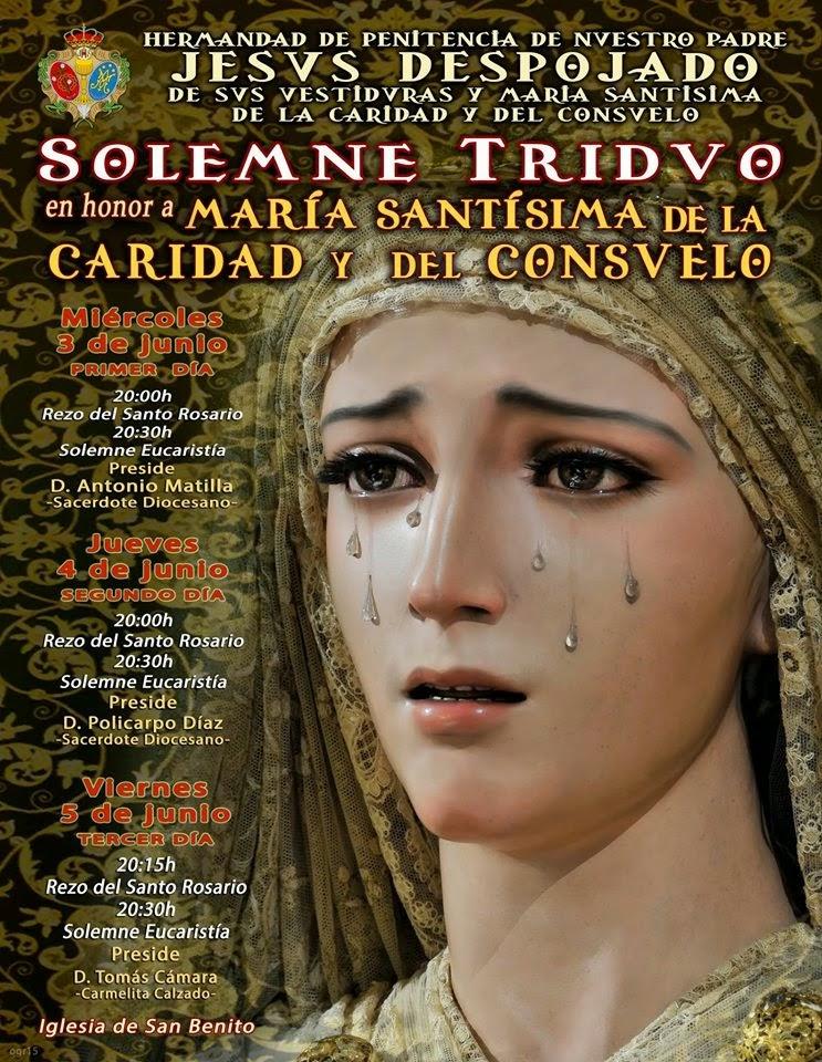 TRIDUO CARIDAD Y CONSUELO