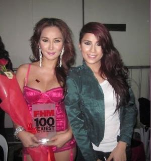 2011 fhm sexiest victory party paulene so backstage 01