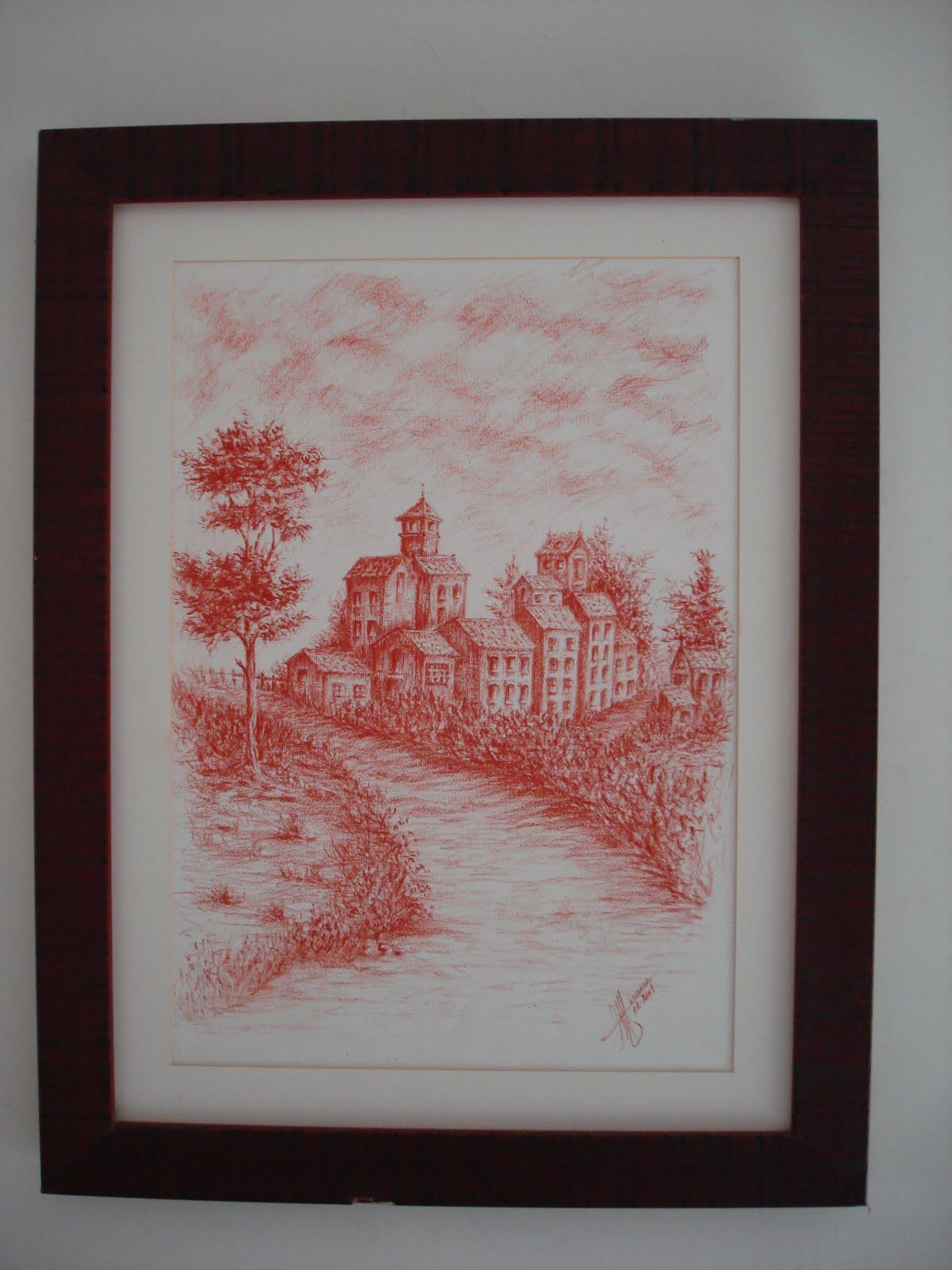 Marta pinturas aqui vai um conjunto de quadros a lapis - Pinturas sanguino ...