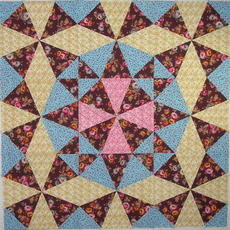 Kaleidoscope Ca: Debby Kratovil Quilts: Kaleidoscope Blocks & Giveaway