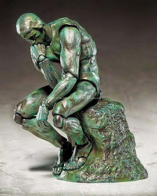 Il Pensatore di Rodin della FREEing