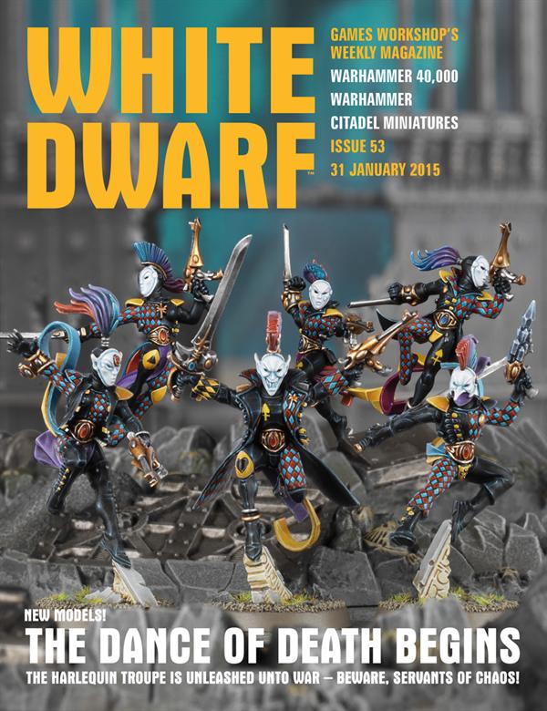 White Dwarf Weekly número 53 de enero