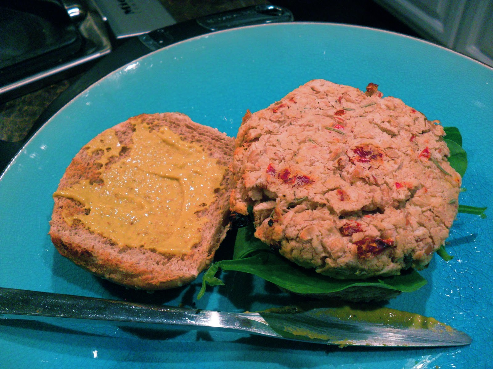 The Lovely Prelude: White Bean Burgers