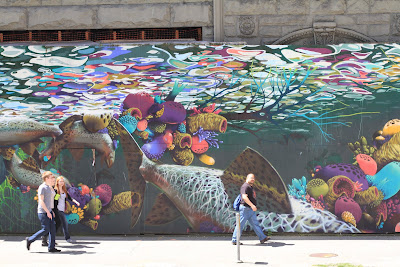 Emerge: An Ode to Dedication Mural - Pioneer Square