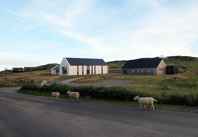 Isle of Coll Community Centre and Bunkhouse where we stayed