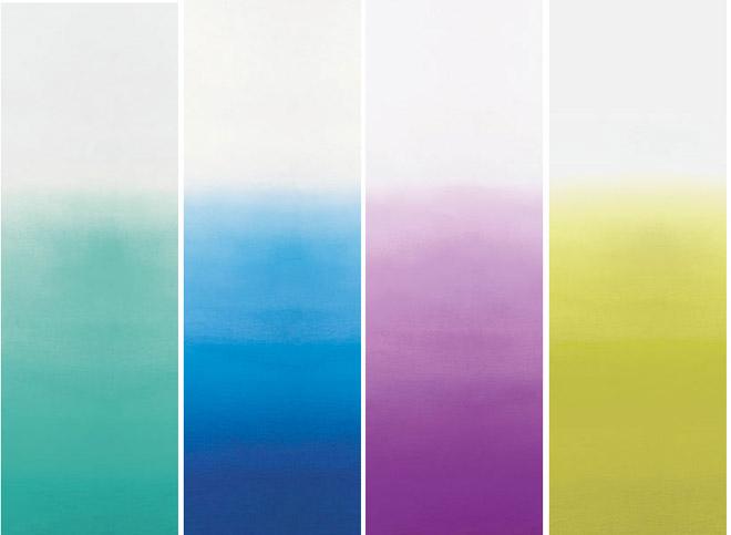 electric dreamer dip dye wall paper