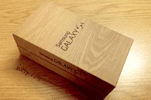 Фирменная коробка Samsung Galaxy S4
