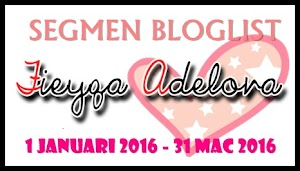 Segmen Bloglist #1 by Fieyqa Adelova