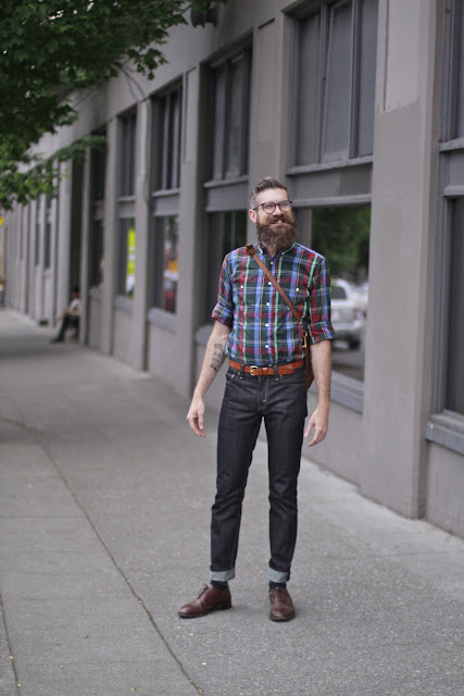 Adam Boehmer Tenderfoot Seattle Street Style Fashion Stumptown Coffee It's My Darlin'