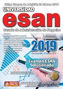 Examen ESAN 2019-1
