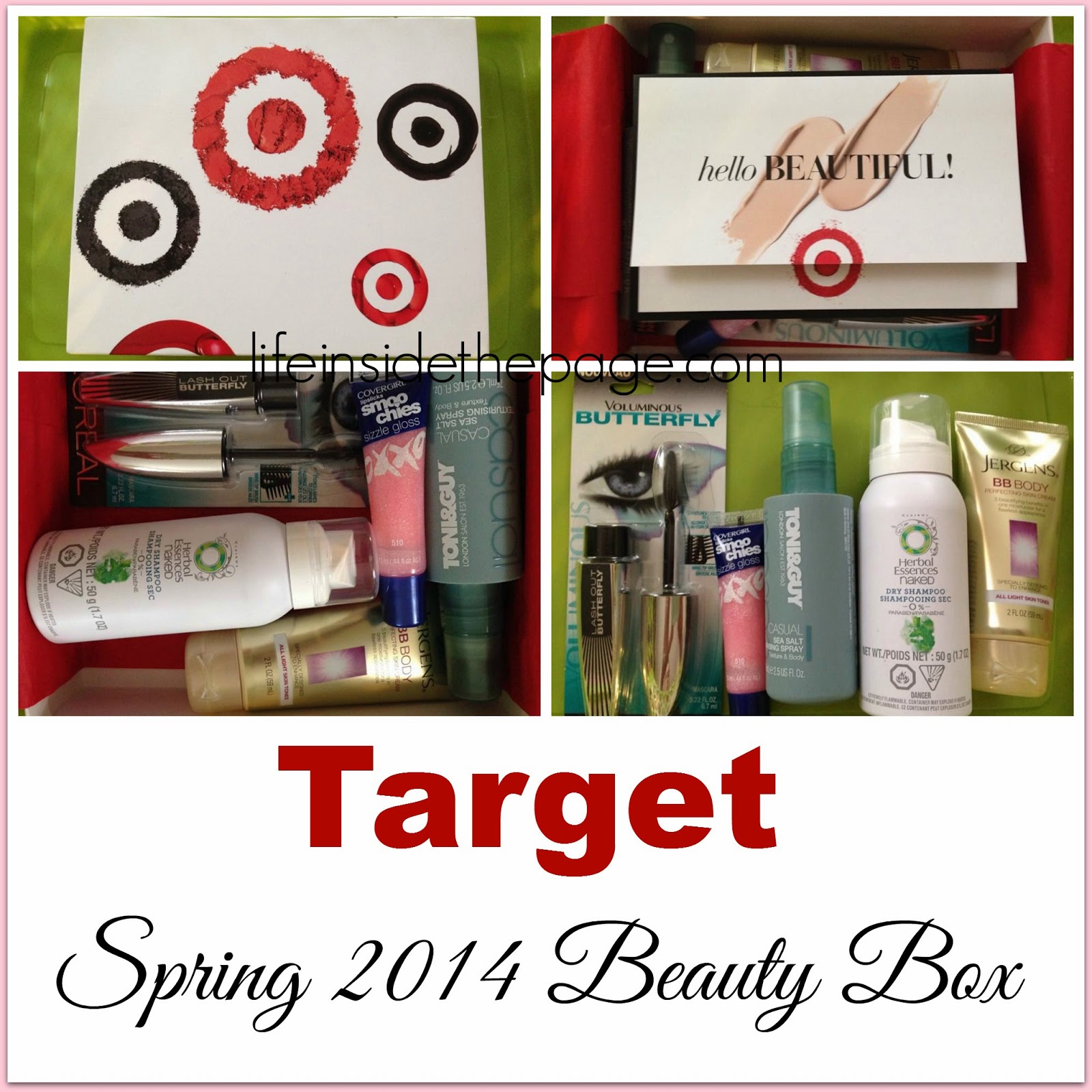 Department: Beauty | Loreal Voluminous Butterfly Mascara | Target Beauty Box