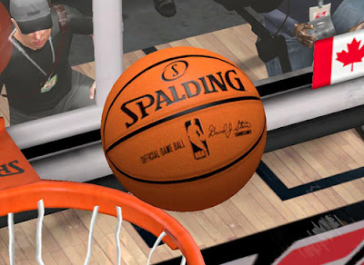 NBA 2K13 Spalding Ball HD Patch