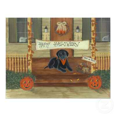 Labrador Retrievers - Halloween