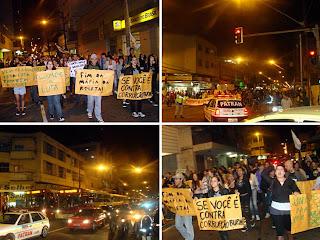 Manifestação no Brasil contra o aumento da passagem de ônibus