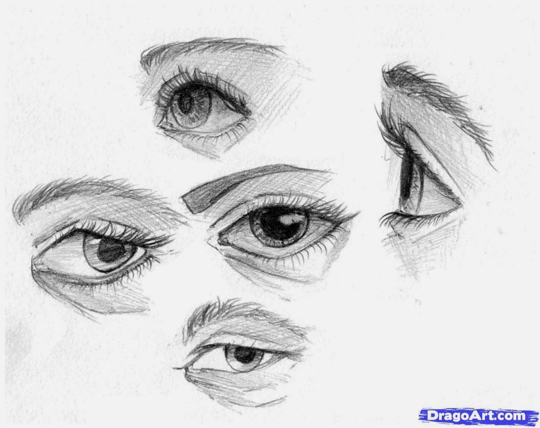 How To Draw On Eyebrows Joseph Harwood Youtube Awesome Music: Sketch How To  Draw Eyes