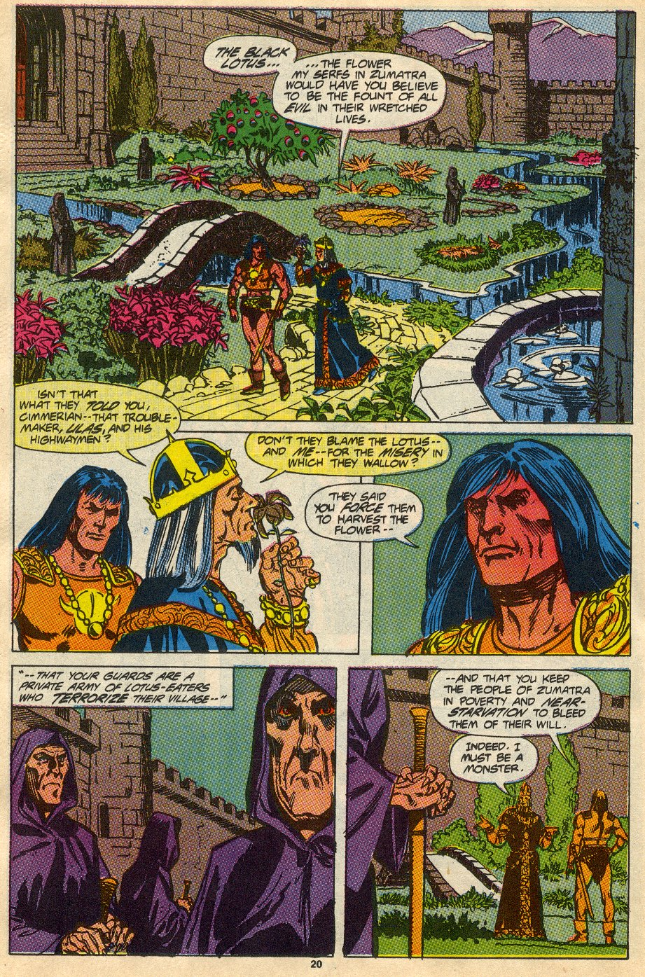 Conan the Barbarian (1970) Issue #230 #242 - English 17