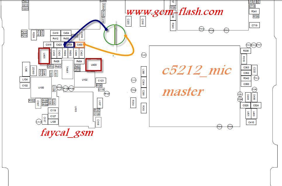 samsung c5212 mic