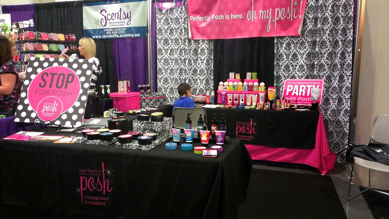 Posh By Simone Perfectly Displays And Tips