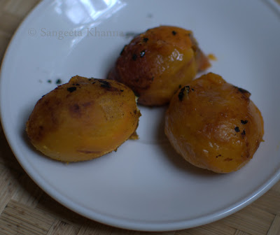 roasted tamarillo