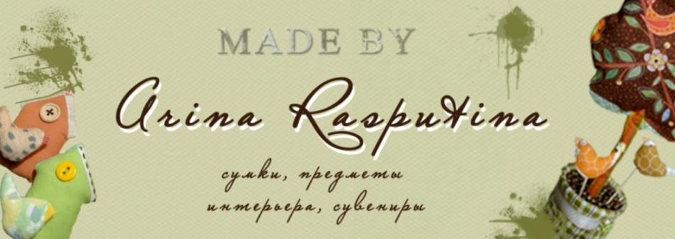 Made by Arina Rasputina